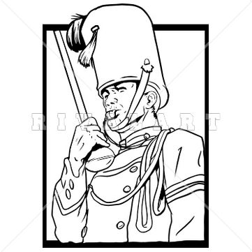 Sports Clipart Image Of A Marching Band -Sports Clipart Image of A Marching Band Drum Major Blowing A Whistle http://-17