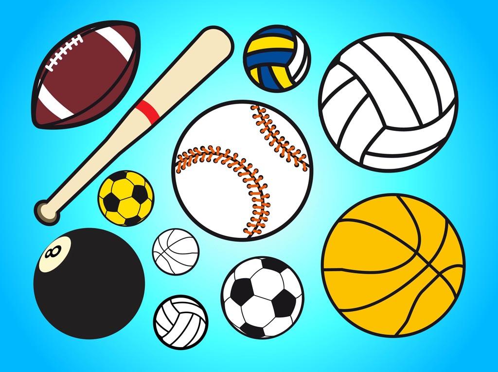 Sports Equipment Clip Art