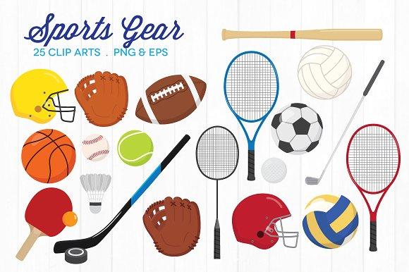 Sports Equipment Clipart-Clipartlook.com-Sports Equipment Clipart-Clipartlook.com-580-1
