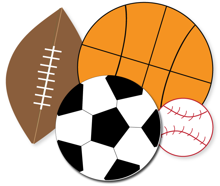 Free Sports Clipart For Parties, Crafts,-Free Sports Clipart for parties, crafts, school projects, websites . ClipartLook.com --6
