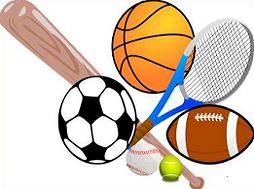 Sports equipment clipart .