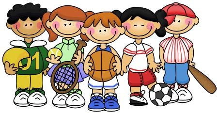 Sports kids clip art illustration clip art sports