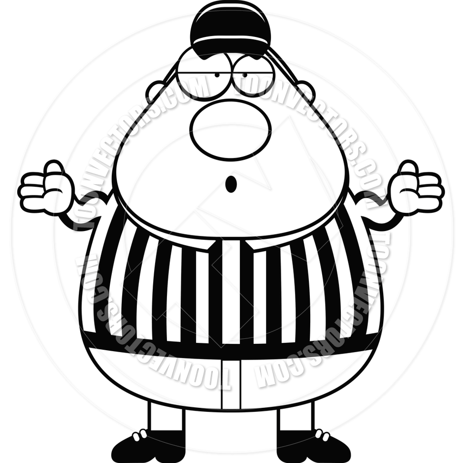 Sports Referee Clip Art