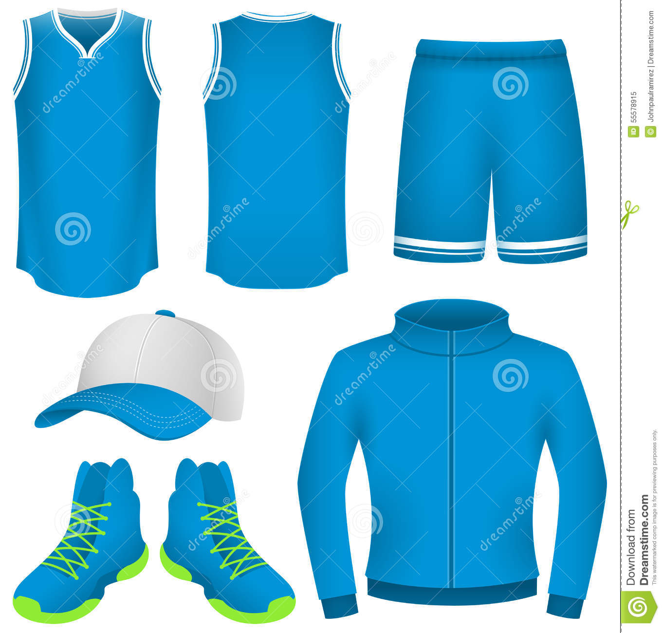Sports Wear Clipart