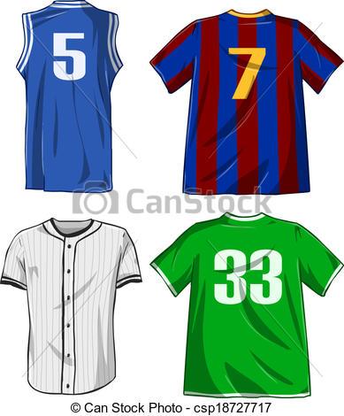 Sports Shirts Pack - Csp18727717-Sports Shirts Pack - csp18727717-10