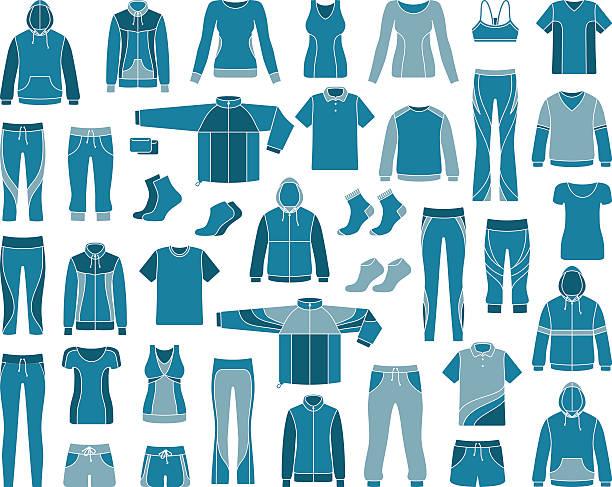 Sportswear Vector Art Illustration-Sportswear vector art illustration-13