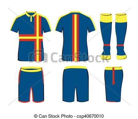 Sportswear Vector Template-Sportswear Vector Template-14