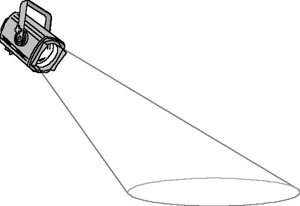 Spotlight clip art vector spo