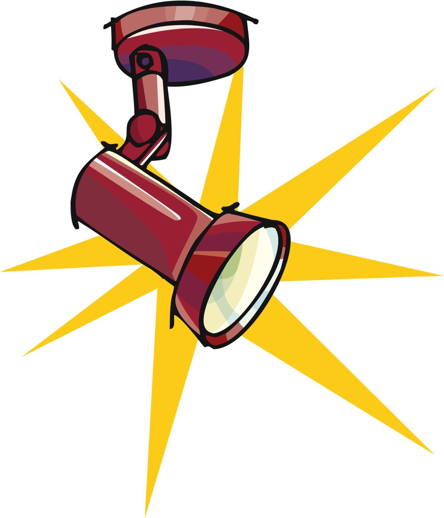 Spotlight clip art 2 clipartbold