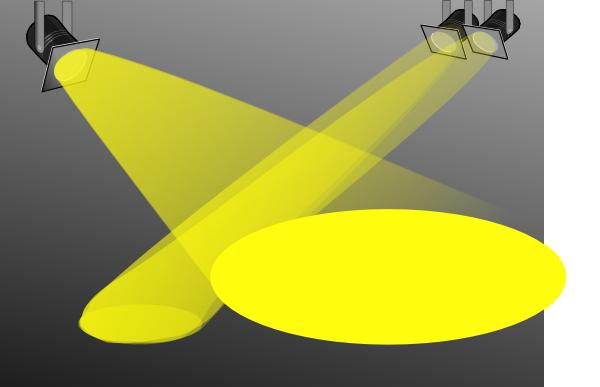 Spotlight Searchlight Clip Art At Clker Com Vector Clip Art Online
