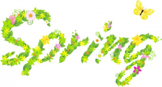 Spring 6 clipart