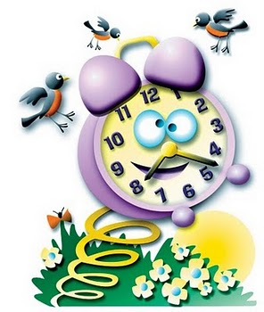 Spring Ahead School Clipart #1