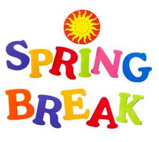 spring break 2017 school logo