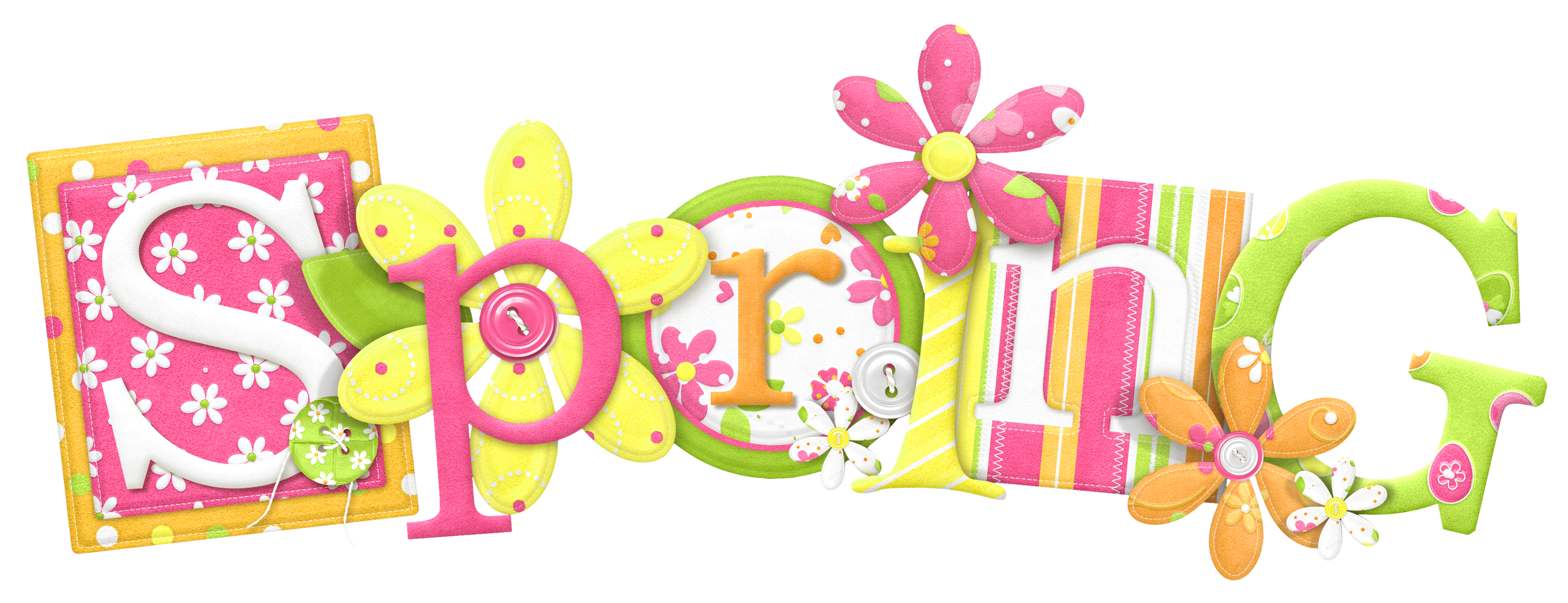 Spring clip art free clipart image 2