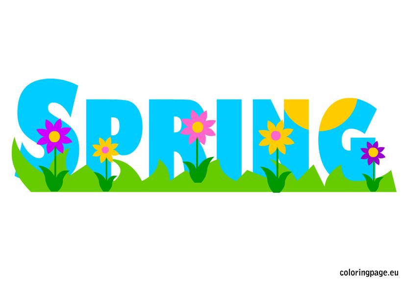 Spring Clip Art u0026middot; spring clip-Spring Clip Art u0026middot; spring clipart-0