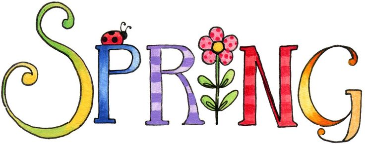 Signs Of Spring Clipart #1