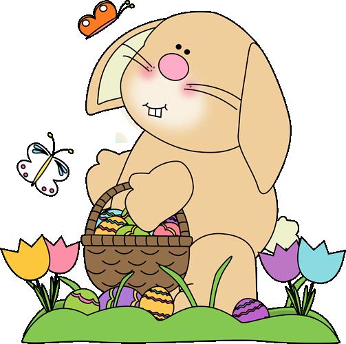 Spring Easter Bunny Clip Art