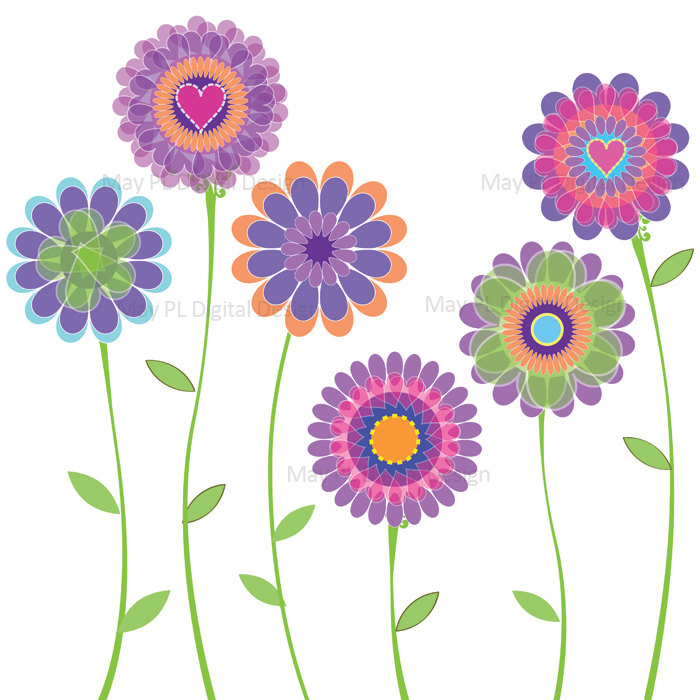 Spring Flower Clip Art-spring flower clip art-13