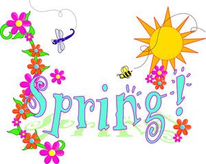 Spring Flowers Border Clipart-Spring Flowers Border Clipart-17