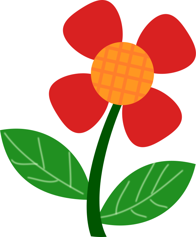 Spring Flowers Clip Art #24124-Spring Flowers Clip Art #24124-12