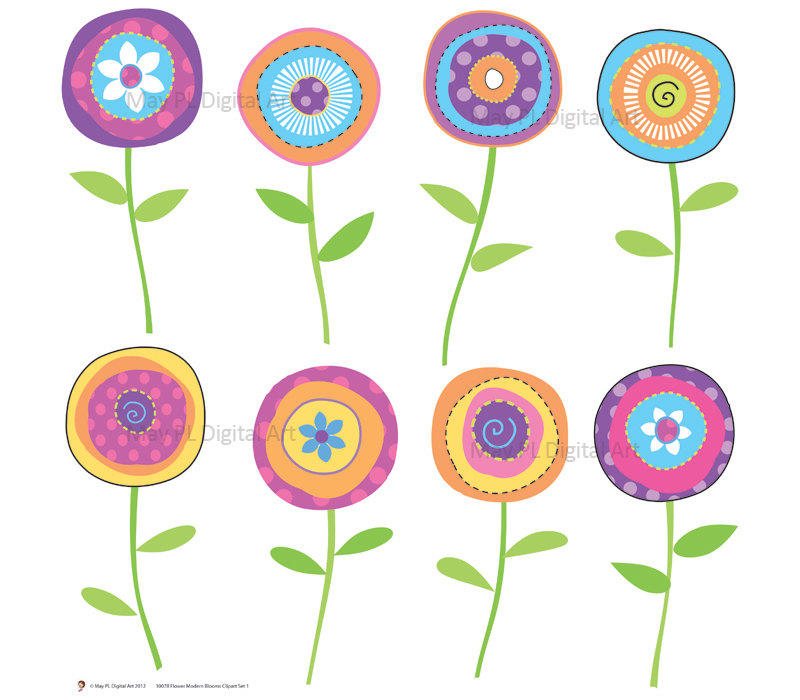 Spring Flowers Clip Art Free-Spring Flowers Clip Art Free-12