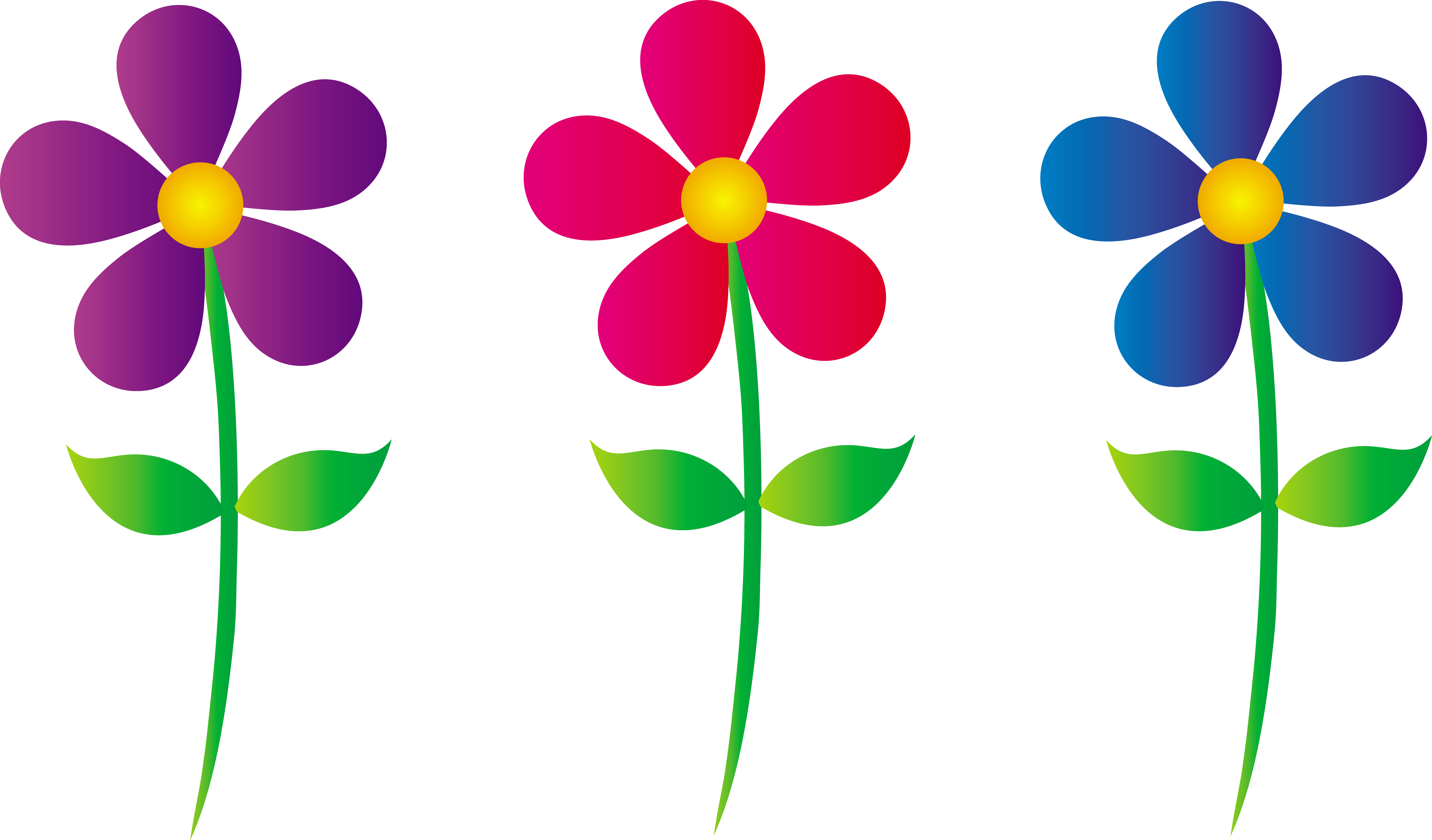 Spring Flowers Clipart | Clipart library - Free Clipart Images