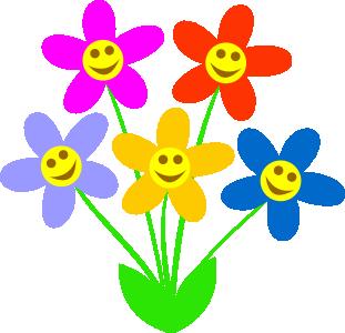 spring flowers clipart-spring flowers clipart-1