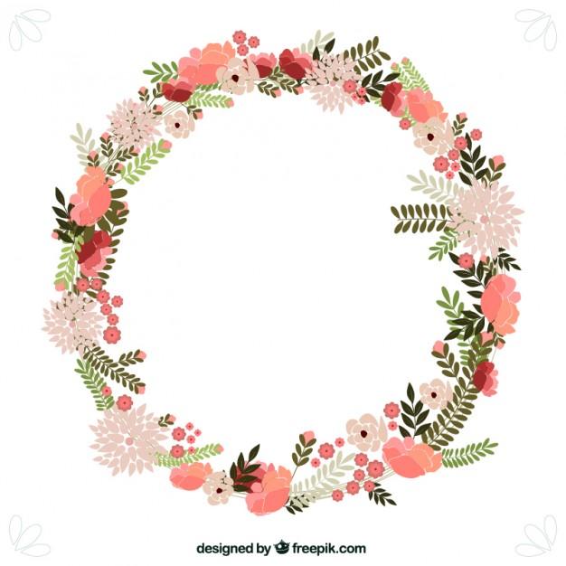 Spring Flowers Wreath-Spring flowers wreath-16