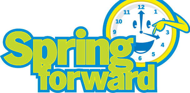 Spring Forward Clipart - clipartall; Spring Forward Clip Art ...
