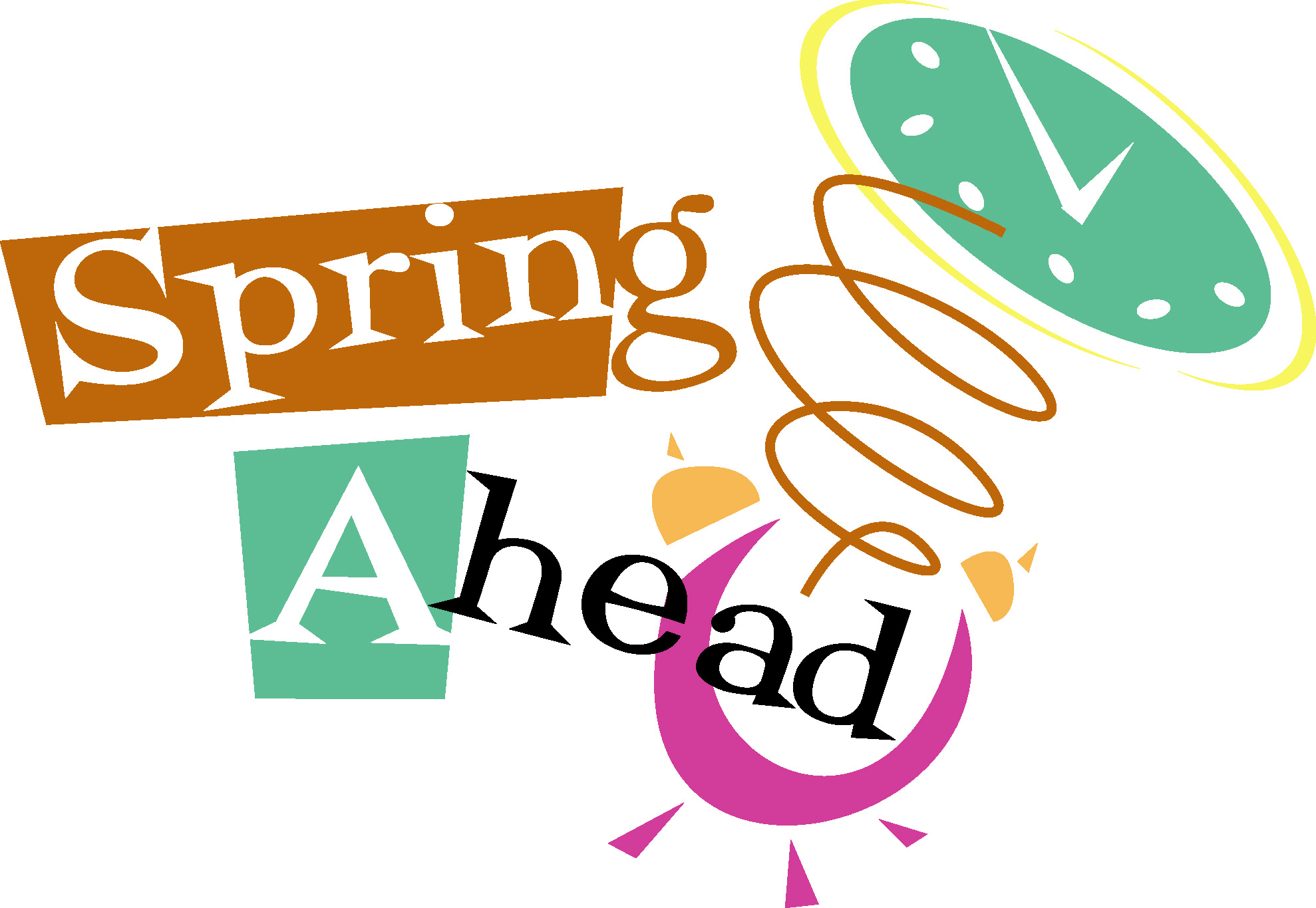 Spring Forward Clipart - clipartall ...