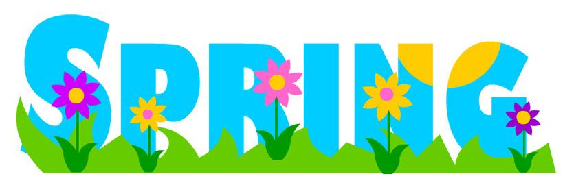 Springtime Borders Clip Art - Springtime Clipart