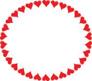 Square Heart Border Size: 83 Kb