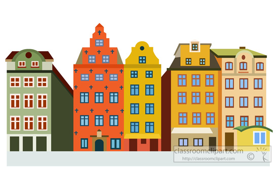 Square Stortorget In Old Town Stockholm Sweden Classroom Clipart