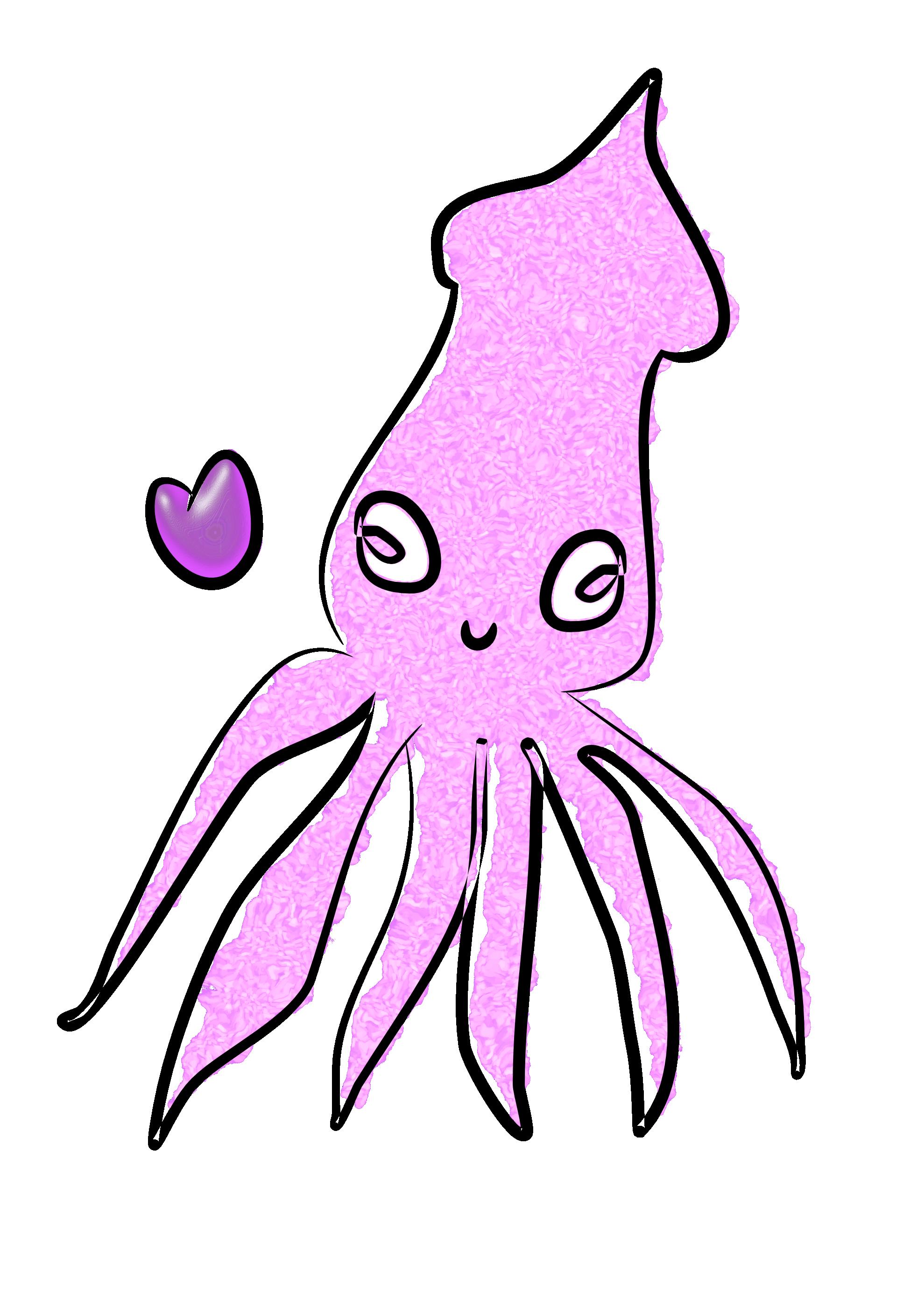squid clipart-squid clipart-13
