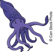 Squid Clipartby ...