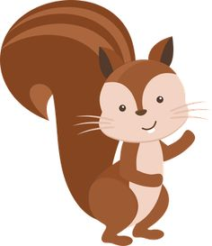 Squirrel clip art forest animals clipart on clip art clipartcow