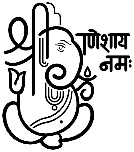 Shree Ganesh Name Logo-Shree Ganesh Name Logo-14
