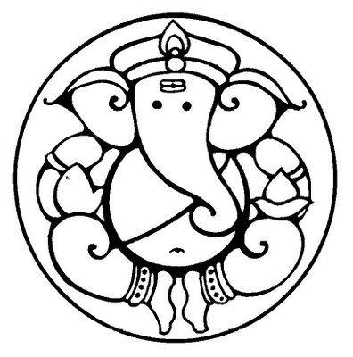Symbolism Of Lord Ganeshau0027s Form Gan-Symbolism of Lord Ganeshau0027s form ganesha clip art round-19