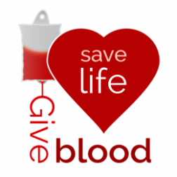 St. Paul Lutheran Church and  - Blood Drive Clip Art