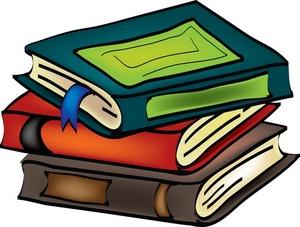 Stack of books books clipart .