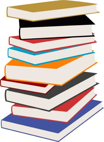 Stack of books clipart free images 7