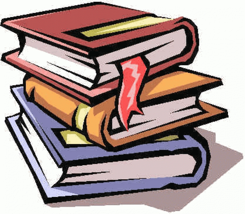 Stack of books clipart free images within