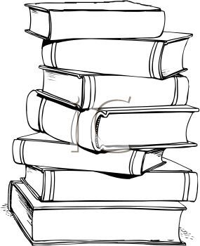 stack of books clipart - Goog - Stacked Books Clipart