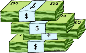 ... Stack Of Money Clipart - clipartall ...