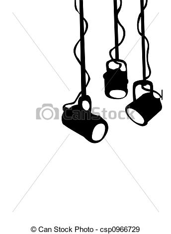 Stage Lights Stock Illustrationby ...-Stage Lights Stock Illustrationby ...-16