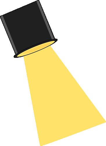 Stage Spotlight Clip Art Imag - Spotlight Clipart
