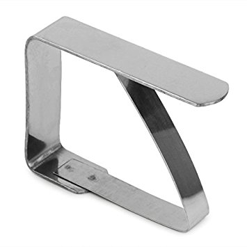 Stainless Steel Tablecloth Clip | Table Cloth Clip for Outdoor Use, Catering Tablecloth Clip,