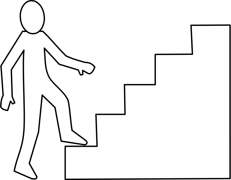 Staircase Clip Art Download - Clip Art Stairs