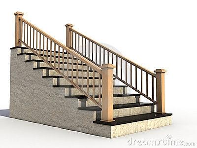 ... staircase handrail clipart 1 ...