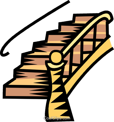 Escalier Staircase Free Vecto